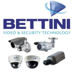 BETTINI Video sorveglianza, telecamere
