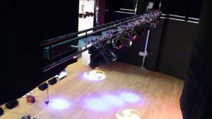 Parco luci a led installato presso il Teatro Maggiore di Verbania