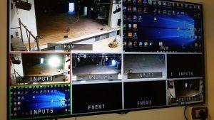 Sistema video con telecamere brandeggiabili installato presso il Teatro Maggiore di Verbania
