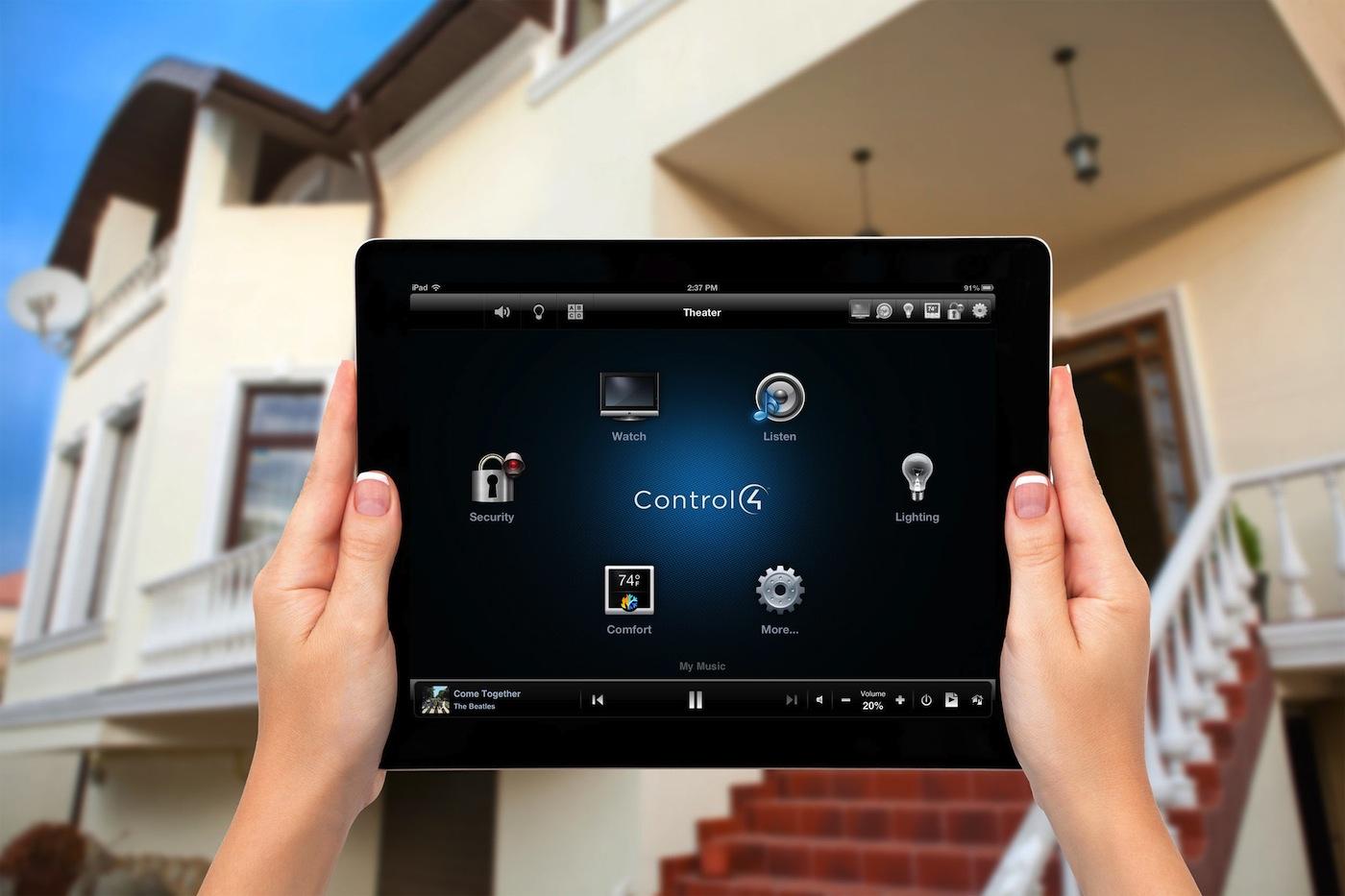 Control4: sistema domotico leader nel mondo per l'automazione degli apparati multimediali e l'integrazione che le altre apparecchiature dell'abitazione